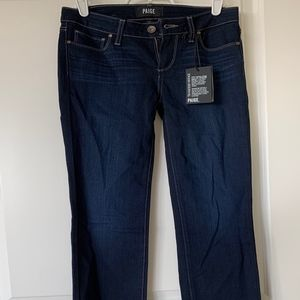 Paige Skyline Straight Jeans in Acadia, Size 25